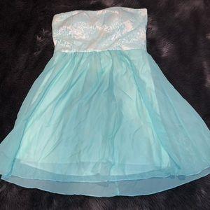 Light Blue Informal/formal DEB dress